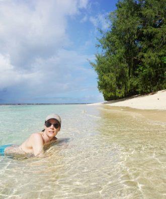 Nggatirana Island swimming